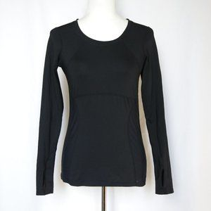 LUCY Activewear Black Long Sleeve Shirt small